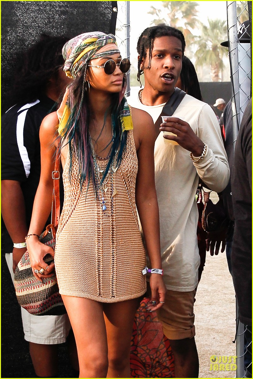 A Ap Rocky And Chanel Iman At Coachella Oh No They Didn T