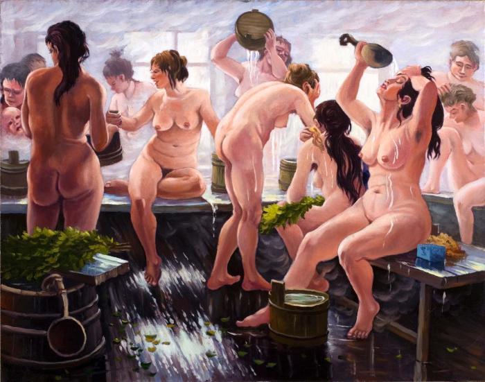 баня купание русских женщин видео - 1