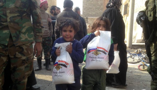 Гуманитарная ситуация в Алеппо под контролем России