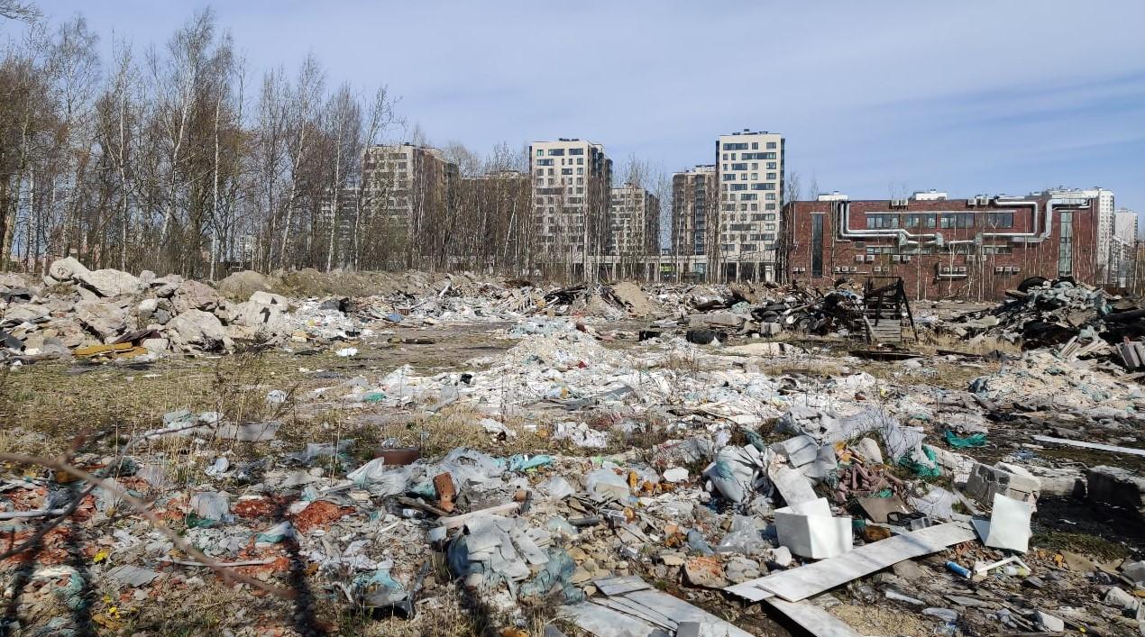 Гульчук забил на проблему незаконных свалок в Невском районе СПб