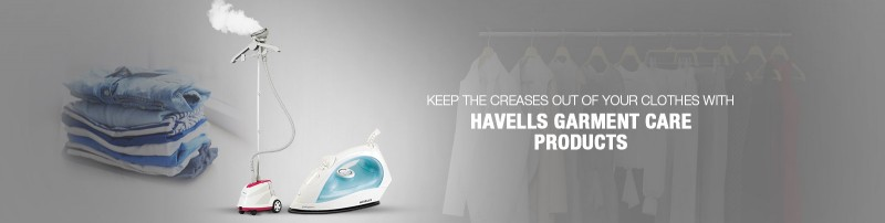 SEAMLESS IRONING WITH HAVELLS RANGE OF PRODUCTS FOR GARMENT CARE