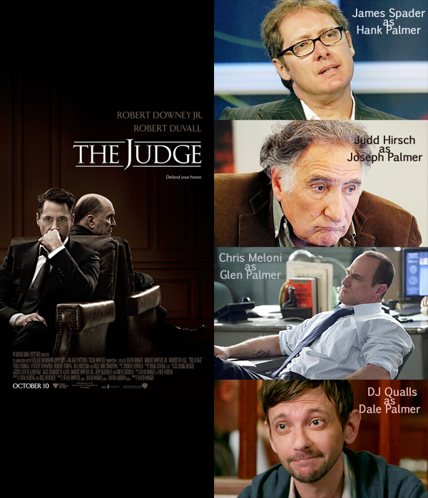 Movie to TV Reboot Recast The Judge