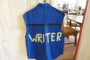 Castle's Writer Bullet proof vest