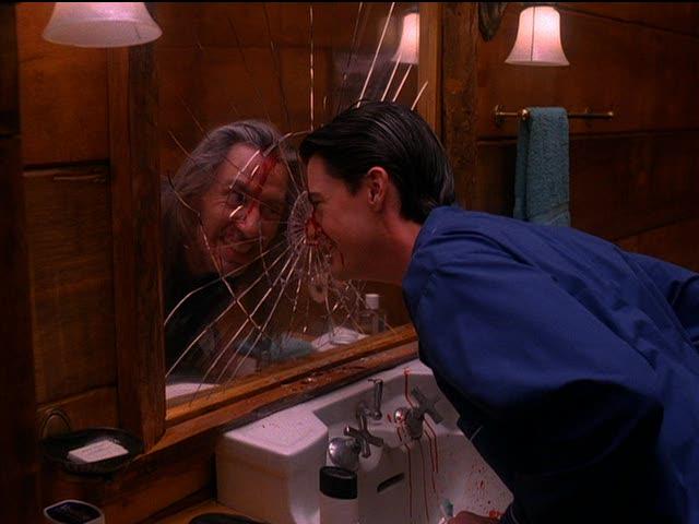 Cooper Bob Mirror Twin Peaks