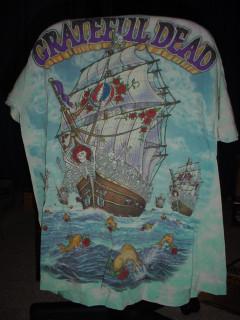 Greatful Dead shirt - size L