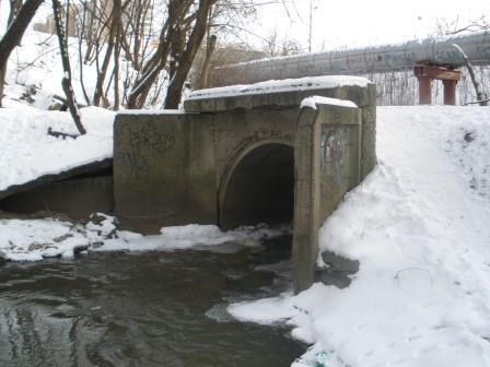 Коллектор реки Чермянки