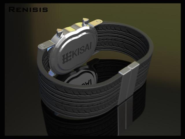 Дизайнерские часы Renesis watch