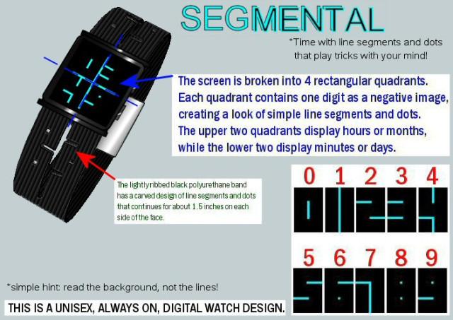 Дизайнерские наручные часы Kisai Stencil Watch
