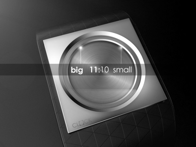 Наручные часы Minimalist LCD watch