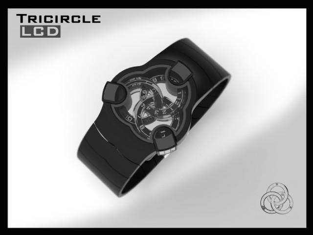 Наручные часы Tricircle LCD watch