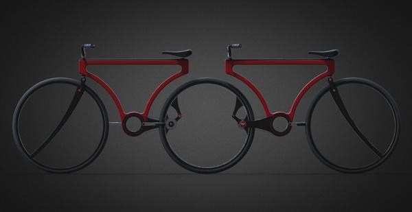 Инновационный велосипед Twist Bike