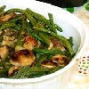 mushrooms and beans