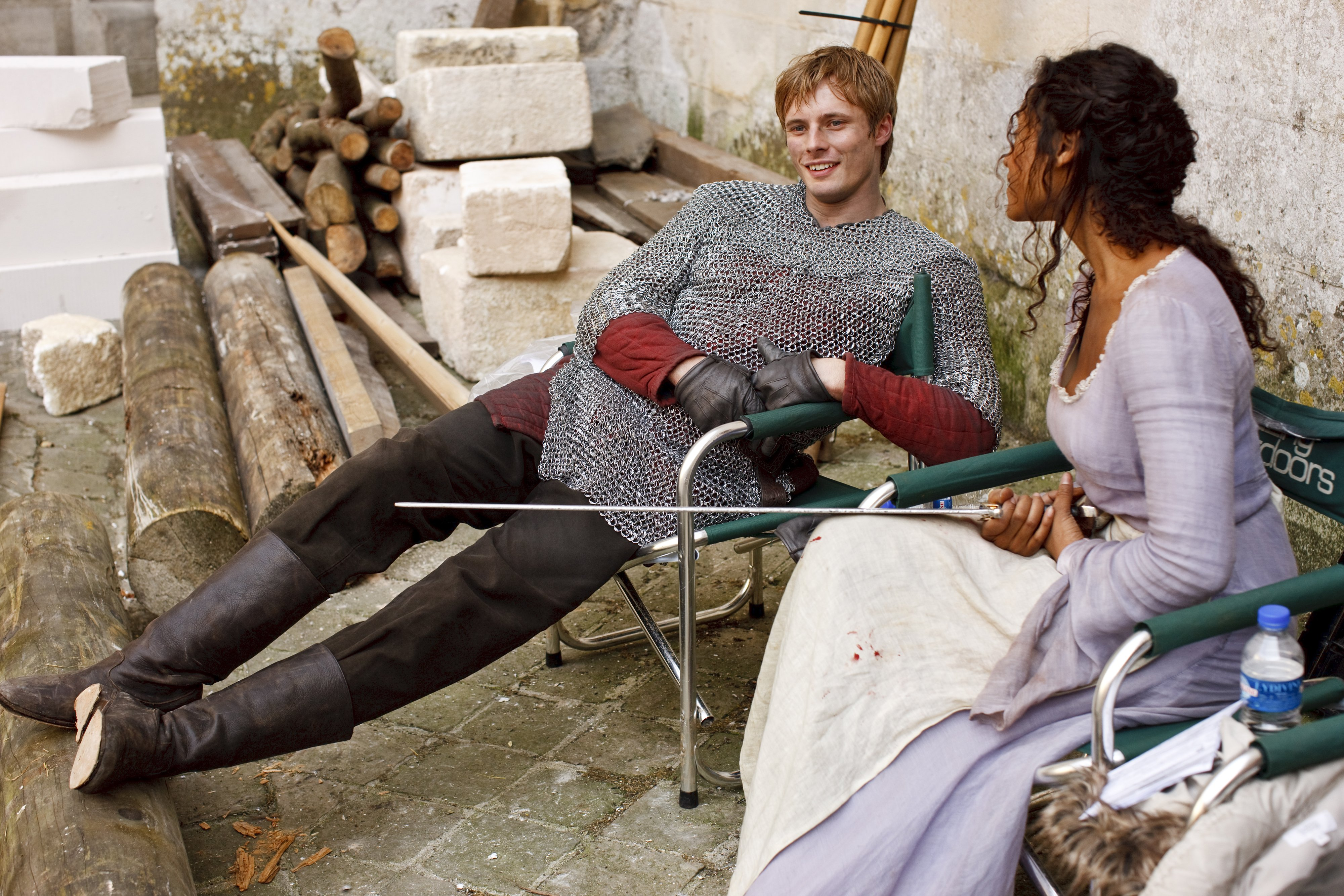 Bts Pics Of Bradley And Angel Camelot Love