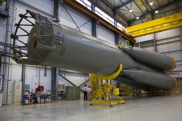 Проект «Союз-СТ в Гвианском космическом центре»