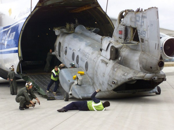Роль самолета Ан-124 для стран НАТО