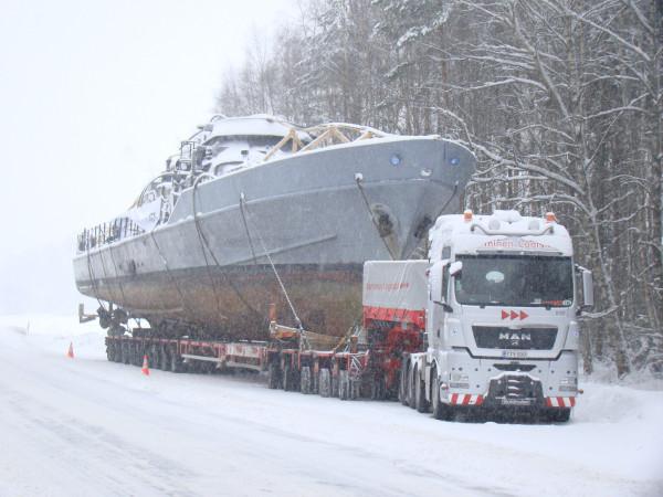 Nurminen Logistics Big Boat Juha Kuusijärvi
