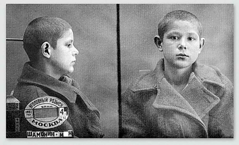 """Миша Шамонин, 13 лет. Расстрелян в декабре 1937 по закону """"о трех колосках"""""""