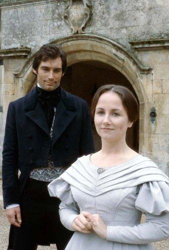 Рочестер (Тимоти Далтон) и Джейн Эйр (Зила Кларк) в экранизации 1983 г. –- лучшей из всех ИМХО