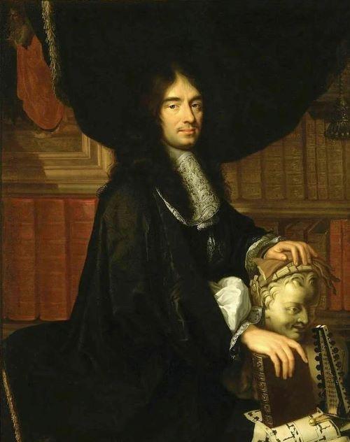 Портрет Шарля Перро. Худ. Ф. Лальман, 1672 г.