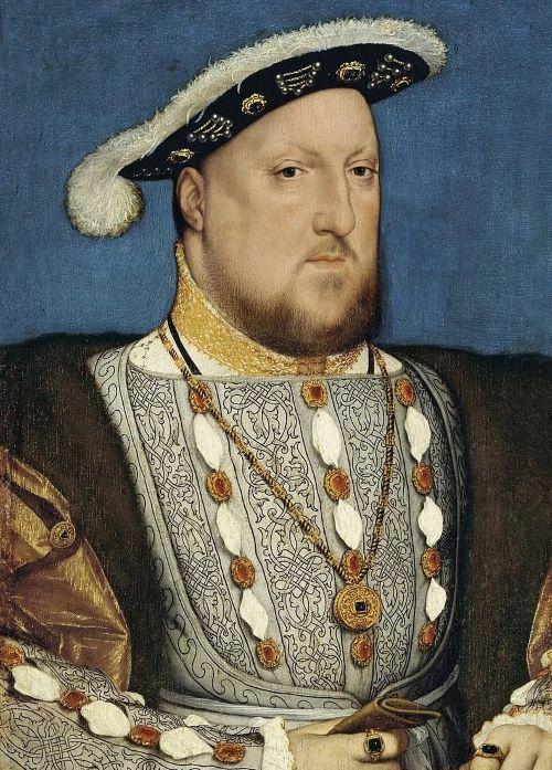 Генрих VIII. Худ. Г. Гольбейн, 1537 г.