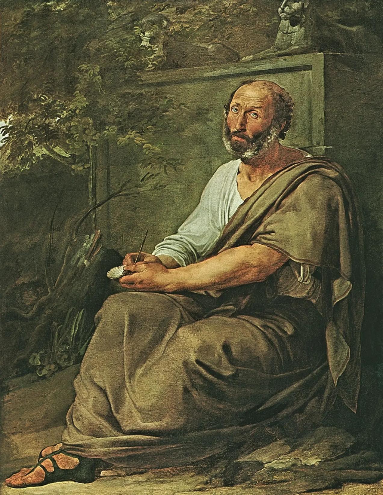 Аристотель. Художник Ф. Айец, 1811 г.