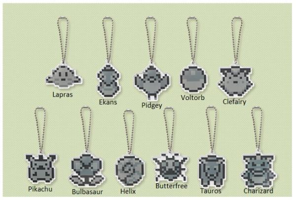 Dot sprite - charms