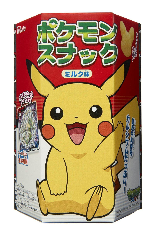 Pokemon milk snack