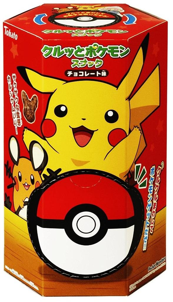 Pokemon snack chocolate