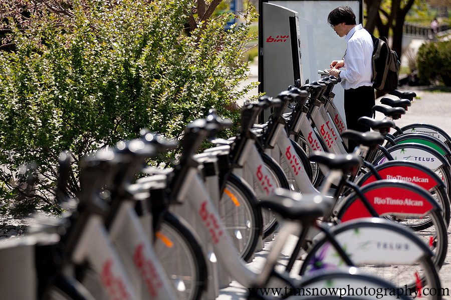 Bixi Bikes in Montreal by Tim Snow (timsnow) on 500px.com