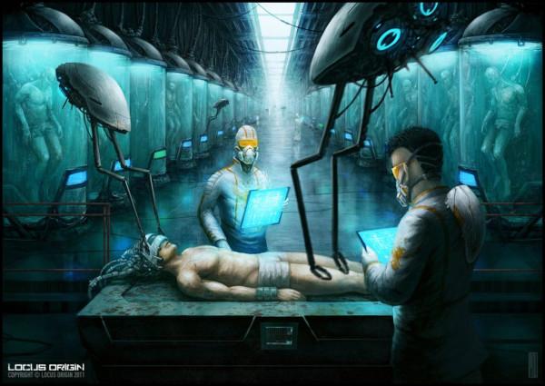 Клонируем человеческие особи в количестве 1000 человек.