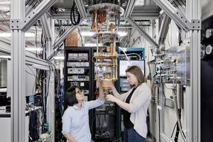 Квантовый компьютер IBM разрабатывается в лаборатории компании в Швейцарии.