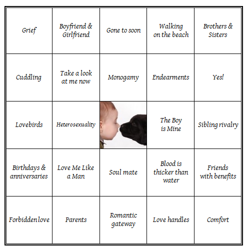 love_bingo card