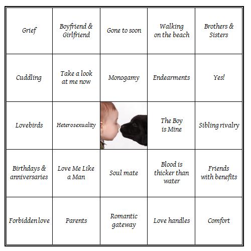 love_bingo card