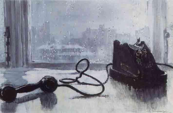 Пименов Ю. Ожидание, 1959