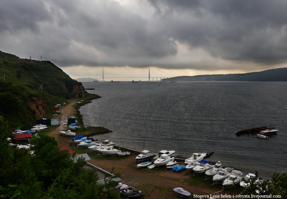 как погода во владивостоке остров русский уже говорилось выше