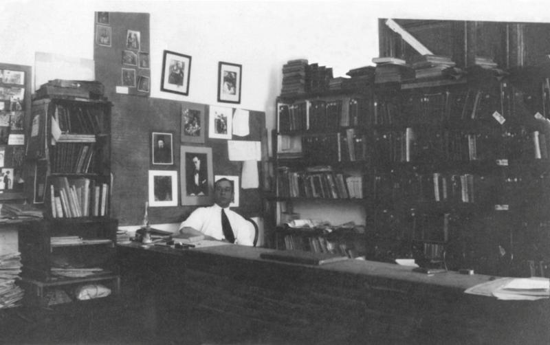 Петр Добрыня в  библиотеке таинственной графини_Александрия 1928ф