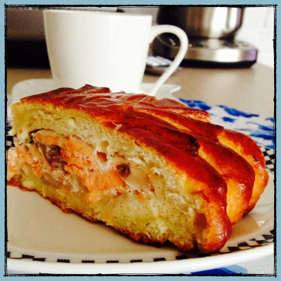 Рыбный пирог на жидком тесте рецепт