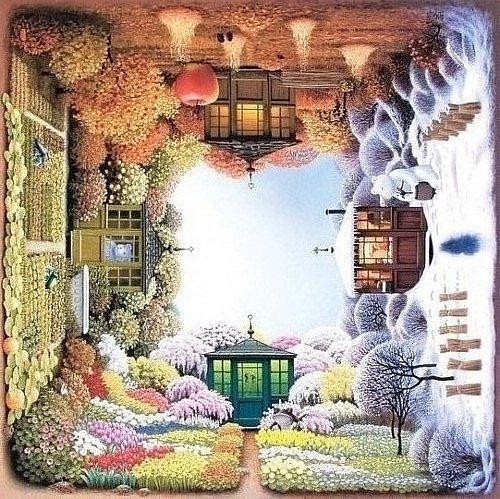 Времена Года Пейзажи-4
