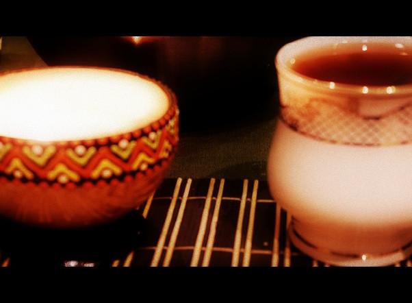 завтрак при свечах