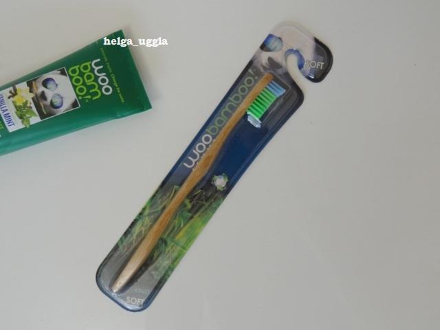 Woobamboo, Зубная щетка для взрослых, мягкая