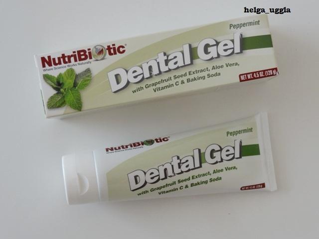 NutriBiotic, Гель для зубов, Перечная мята