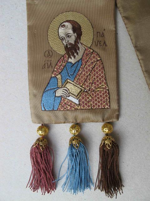 Закладка св. Апостол Павло. / The вookmark