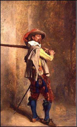 Jean-Louis-Ernest Meissonier - Musketer