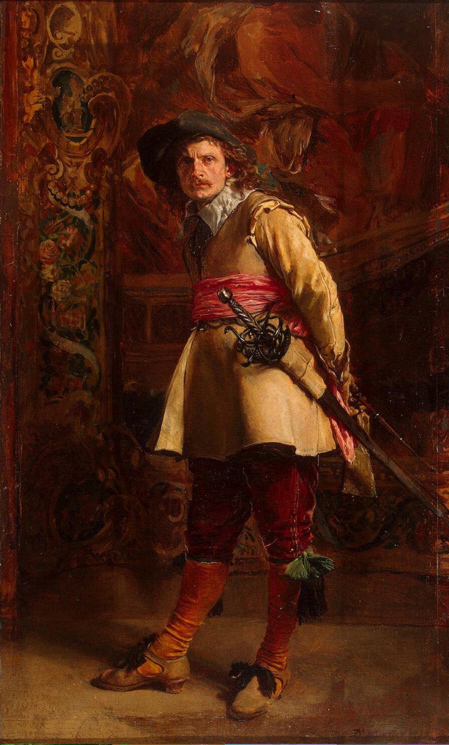 Meissonnier_Jean-Louis_Ernest-ZZZ-Musketeer