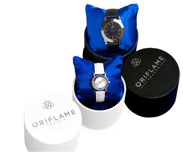 Часы Seiko в подарок от Oriflame