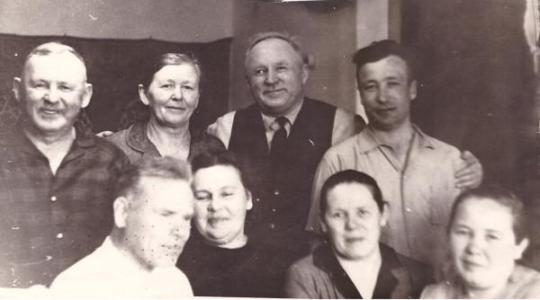 1966 Мазунины новоселье