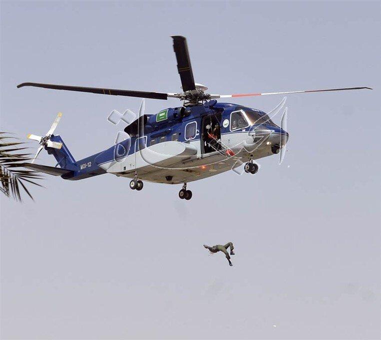 падение из elicopter