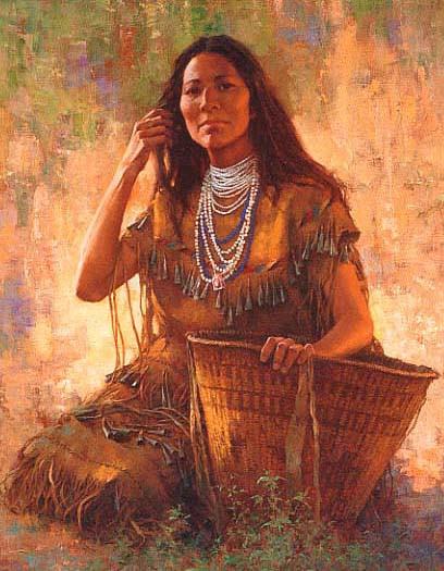 isdzan - apache woman