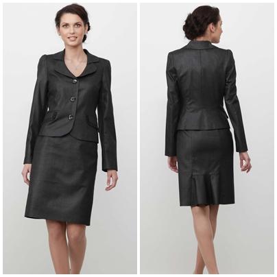 Женский деловой костюм 54 размер