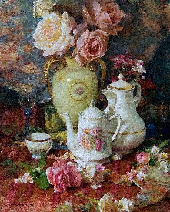 Чай и розы